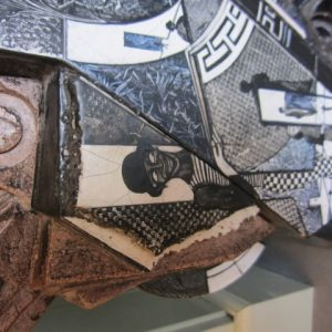 Stenen kunstobject - Unica - Frans