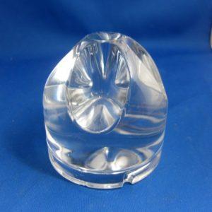 Glazen onderdeel van een Raak lamp