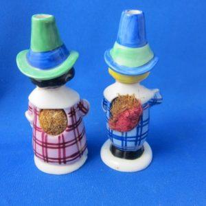 Goebel - een stelletje zeldzame speldenkussen figuurtjes