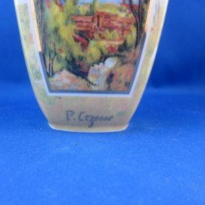 Goebel Artis Orbis - Vaas met afbeelding Paul Cezanne - gelimiteerd