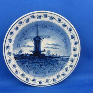 1918 - Bord De Porceleyne Fles - De dageraad begint te blinken
