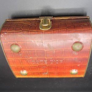 Cote D`OR - blik in de vorm van tas
