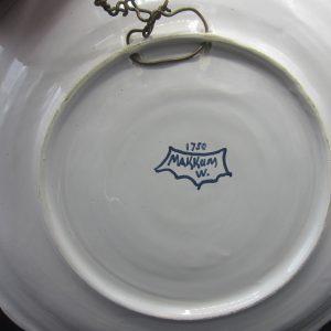 Makkum wandschotel - polychroom