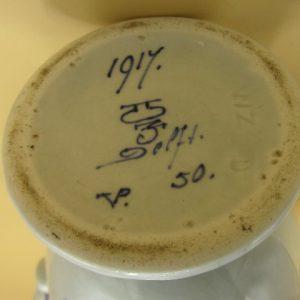 1917 - De Porceleyne Fles - vaasje