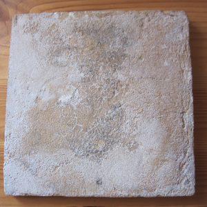 Antieke tegel met ruiter - ca 1650