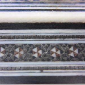 Pressepapier met verfijnd ivoor inlegwerk - India - 19e eeuw
