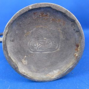 Antique Qing period Chinese pewter tea or wine pot - 19th century - marked